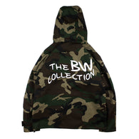 The BW Collection | Vancouver, Canada | Chapter 2, 'Bandwagon', Camouflage Rain Jacket.