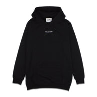 SS'17 'Collection' Embroidered Hoodie - Black