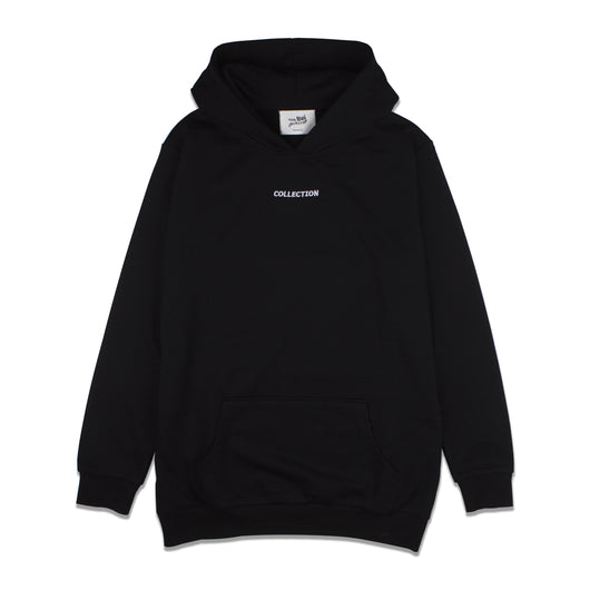 2017 'Collection' Embroidered Hoodie - Black