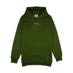 2017 'Collection' Embroidered Hoodie - Olive