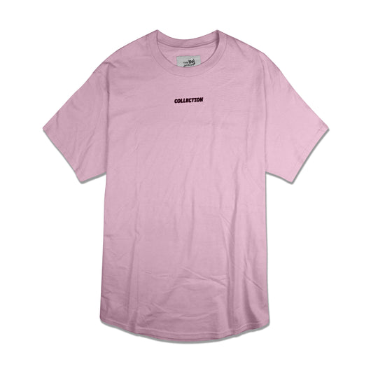 SS'17 'Collection' Embroidered Tee - Light Pink