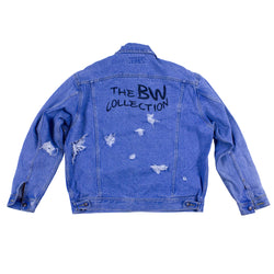 Reworked Wavy Denim Jacket - The BW Collection - 1