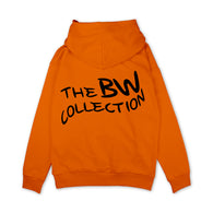 Signature 'Logo' Hoodie - Orange