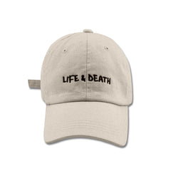 2017 'Life & Death' Embroidered Cap - Stone