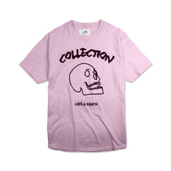 2017 'Life & Death' Tee - Light Pink