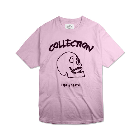 SS'17 'Life & Death' Tee - Light Pink
