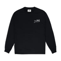 Signature 'Logo' Long Sleeve Shirt – Black