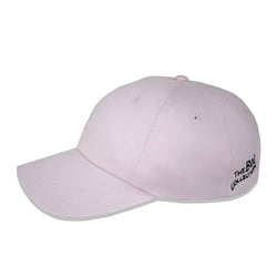 'Low-key' Dad Cap - Light Pink - The BW Collection - 2