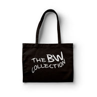 Signature 'Logo' Tote Bag - Black