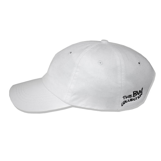 'Low-key' Dad Cap - White - The BW Collection - 3