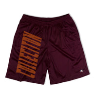 SS'17 'Champion' Mesh Shorts - Bordeaux Red