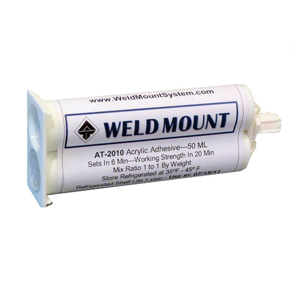 Weld Mount AT-2010 Acrylic Adhesive - 10-Pack