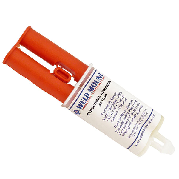 Weld Mount AT-1030 Acrylic Adhesive w/Plunger - 10-Pack