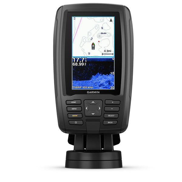 Garmin echoMAP™ CHIRP Plus 44cv US BlueChart® g2 w/CV20-TM Transducer