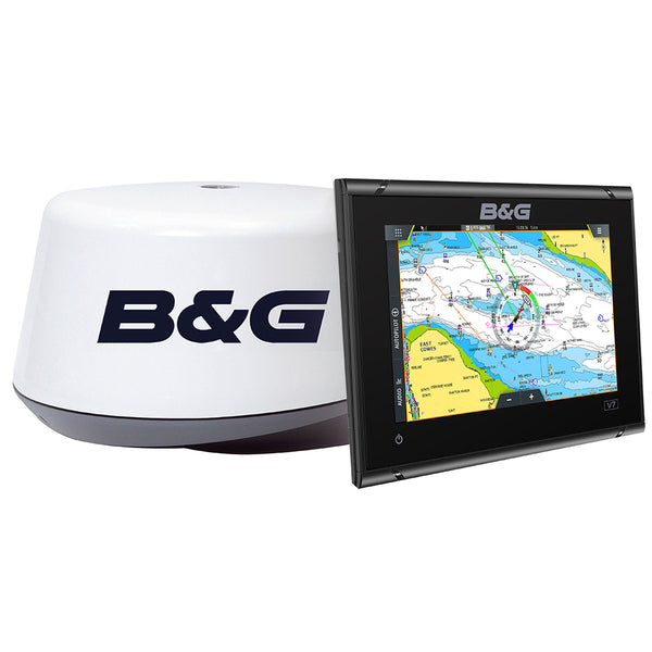 B&G Vulcan 7 R & 3G Radar Bundle