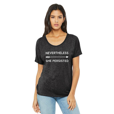 Nevertheless She Persisted Goddess Tee