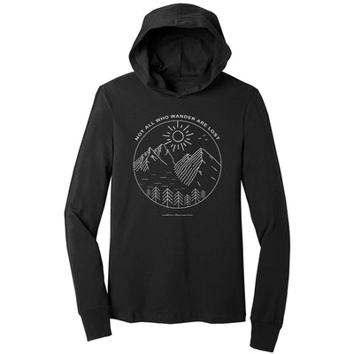 Not All Who Wander Are Lost T-Shirt Hoodie 2.0