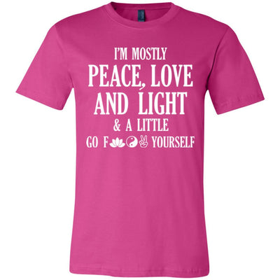 I'm Mostly Peace, Love And Light Premium Tee