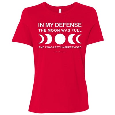 In My Defense Relaxed Fit Tee