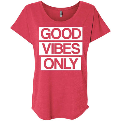 Good Vibes Only Scoop Tee