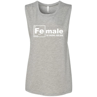 Female: The Original Iron Man Muscle Tank