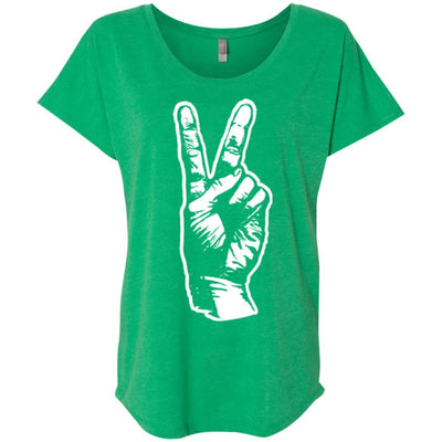Peace Scoop Tee
