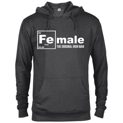 Female: The Original Iron Man French Terry Hoodie