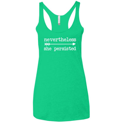 Nevertheless She Persisted Triblend Tank