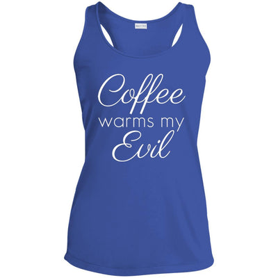 Coffee Warms My Evil Performance Tank
