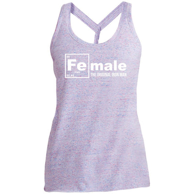 Female: The Original Iron Man Twist Back Tank