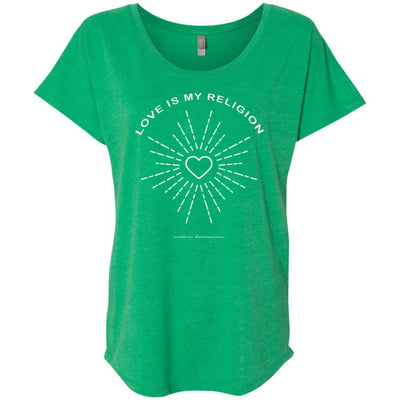 Love Is My Religion Scoop Tee