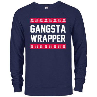 Gangsta Wrapper French Terry Pullover