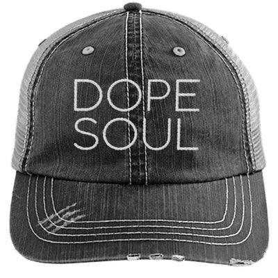 Dope Soul Unstructured Trucker Hat