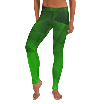 Geo Emerald Leggings