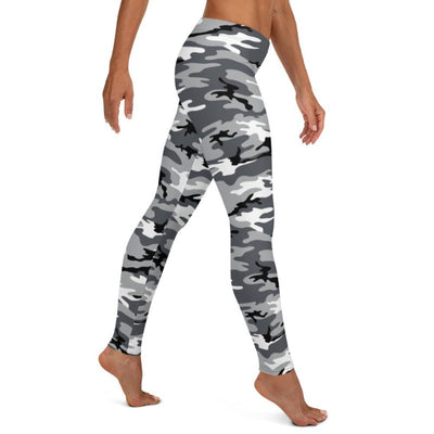 Black & White Camo Leggings