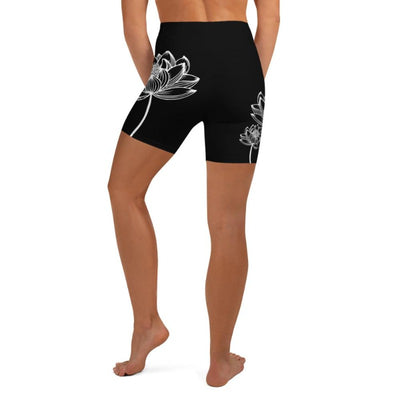 Lotus High Waist Shorts