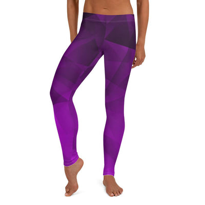 Geo Amethyst Leggings