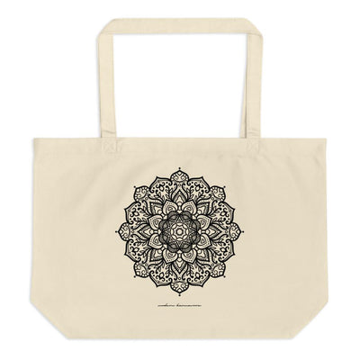 Radiate Love Large Organic Eco Tote Bag
