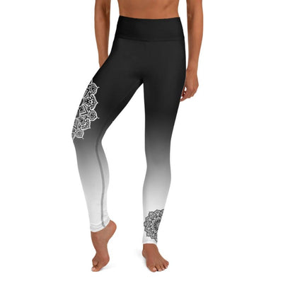 Mandala Ombre High Waist Leggings