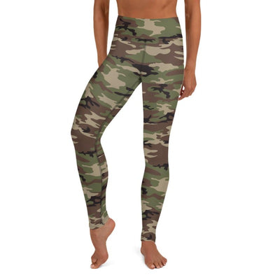 Camo High Waist Leggings