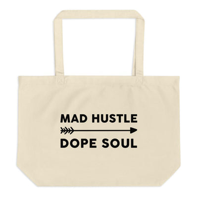 Mad Hustle Dope Soul Large Organic Eco Tote Bag