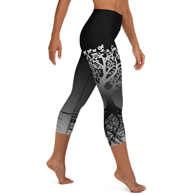 Tree of Life High Waist Capris