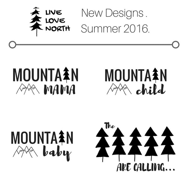 Fall 2016 - new designs!