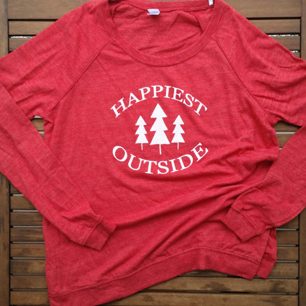 Happiest Outside women's lightweight pullover