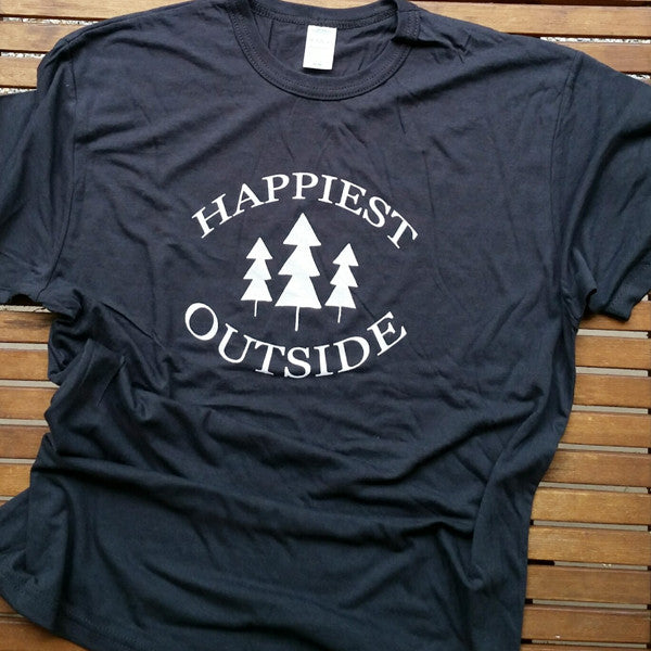 Happiest Outside adult unisex bamboo tee