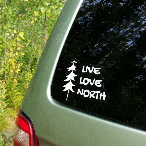 Vinyl Decal - Live Love North