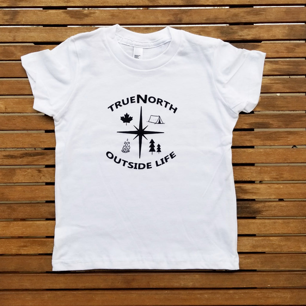 True North kids' tee (size 2 & 8 only)