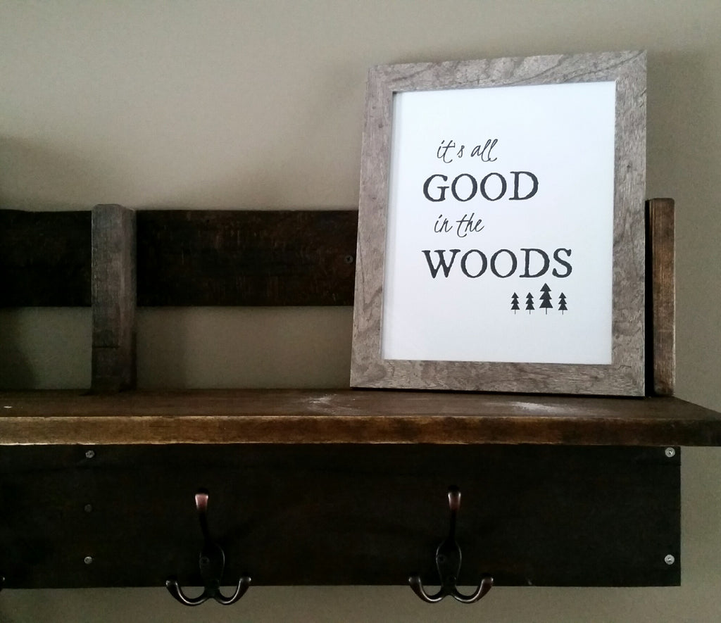 It's all Good in the Woods art print