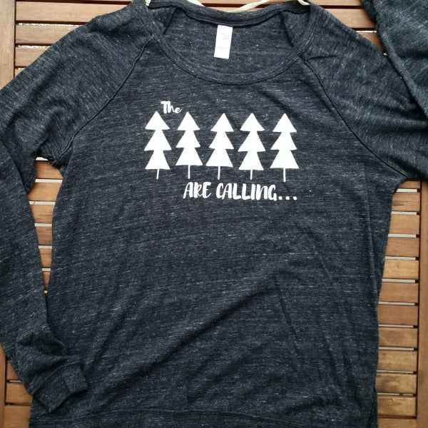 The Trees are Calling women's lightweight pullover
