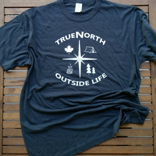 True North adult unisex bamboo tee